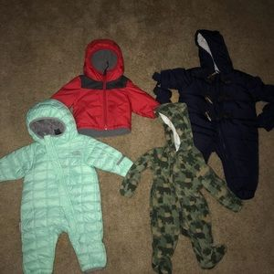 0-3month boy winter clothes
